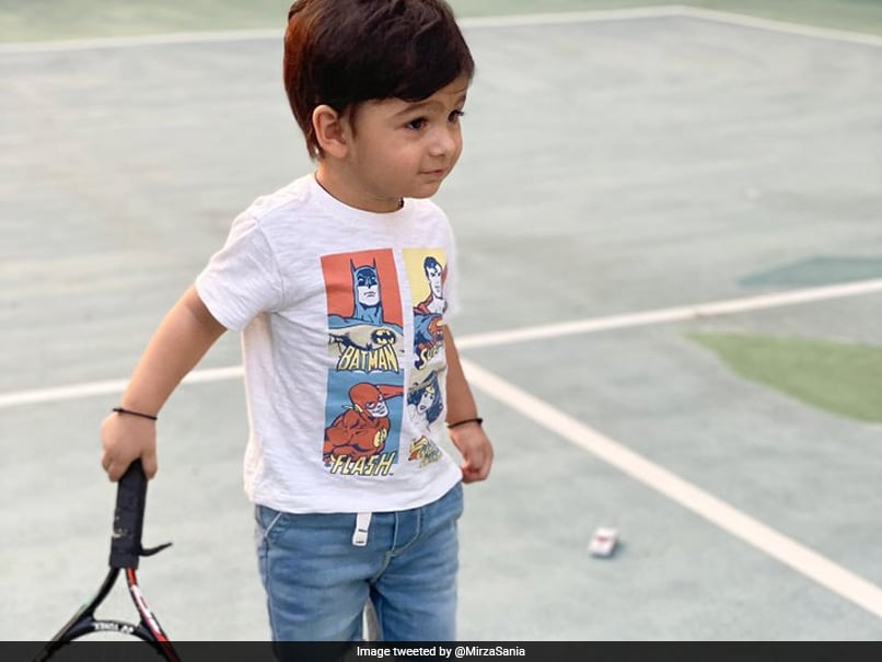"""Cricket or Tennis"": Sania Mirza Shares Son Izhaans Photo With Tennis Racquet. Fans Ask Obvious Question"