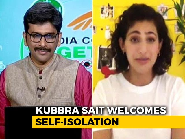 Video: Actor Kubbra Sait Is Enjoying The 'Refreshing Change' And Yoga With Malaika