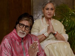 "On Jaya Bachchan's Birthday, Amitabh Bachchan Sends His ""Gratitude And Love"""