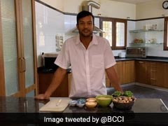 "Watch: Mayank Agarwal Showcases Culinary Skills, Prepares ""One Awesome Dish"""
