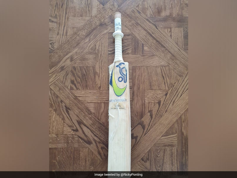 "Ricky Ponting Shares Image Of Bat He Used In ""Proudest"" Knock Of His Career"