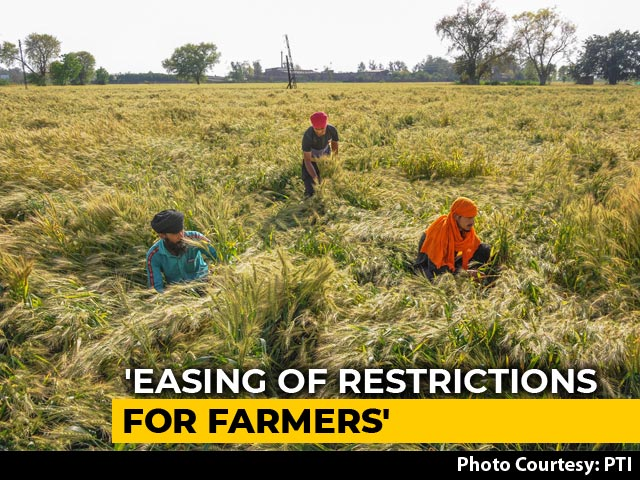 Video : For Farmers Only: In Punjab, District-Wise Relief From Coronavirus Lockdown