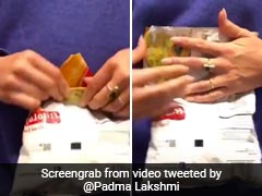 Easy Hack To Seal Chips Packet By TV Host Padma Lakshmi Goes Viral