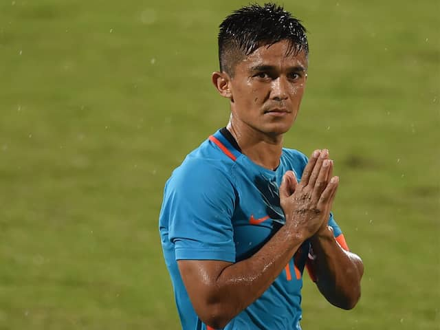 Sunil Chhetri Says He Cried Under Pressure In Early Days, Contemplated Quitting