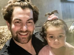 "How Neil Nitin Mukesh's Daughter Nurvi ""Convinced"" Him To Tie His Hair In A Ponytail"