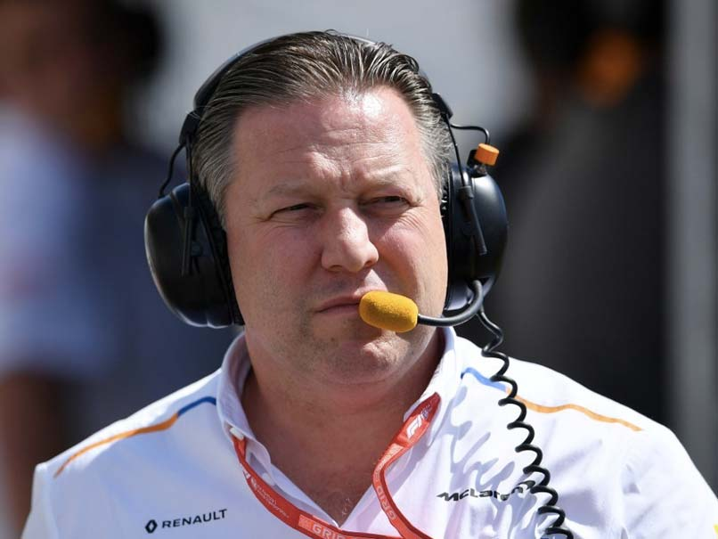 Zak Brown has been credited with the revival of the McLaren team.