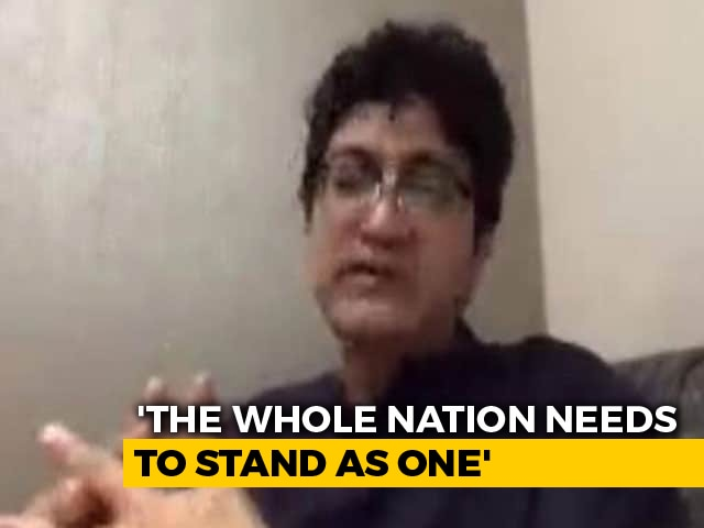 Video : It Is The Time We All Unite: Lyricist Prasoon Joshi