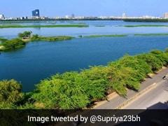 Coronavirus Lockdown: हैरान मत होइए, यह विदेश नहीं बल्कि दिल्ली की यमुना नदी है, देखें Photos और Video