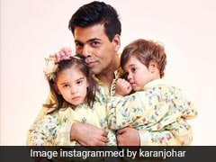 Karan Johar Bakes Yummy Treat For Kids Yash And Roohi, And Customises It Too!
