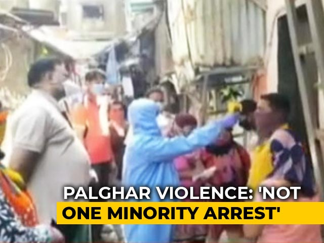 "Video : ""101 Arrests, No Muslim"": Maharashtra Minister On Sadhus' Mob Killing"