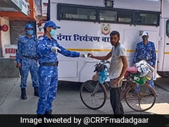 Man Sets Out On 2100-Km Cycle Journey To Meet Ailing Father, CRPF Helps