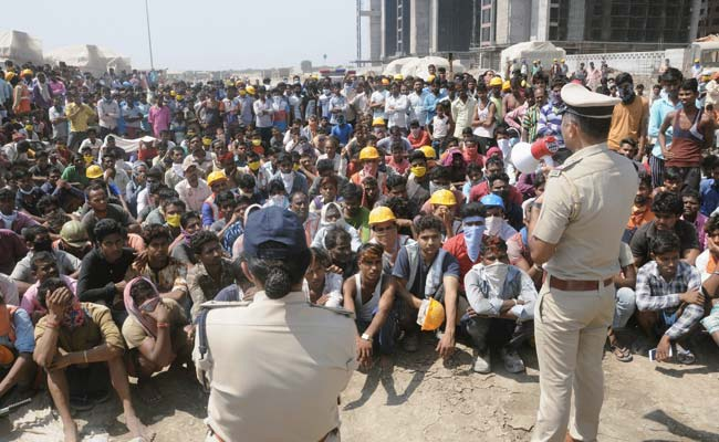 Diamond Industry Buzzing In Surat, Workers Rebel, Hold Violent Protest