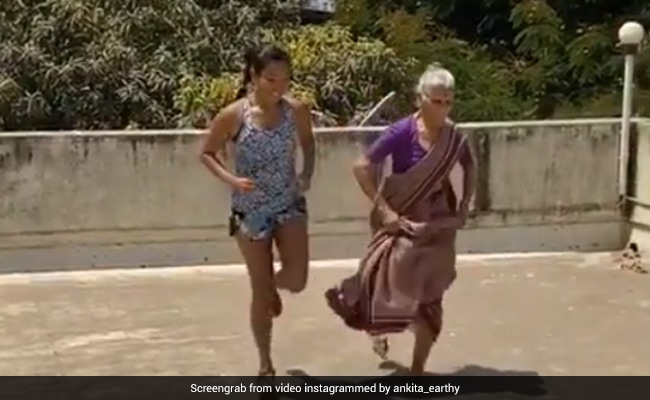Milind Soman's Mom, 81, Working Out With Ankita Konwar Is A Whole New Level Of Coolness