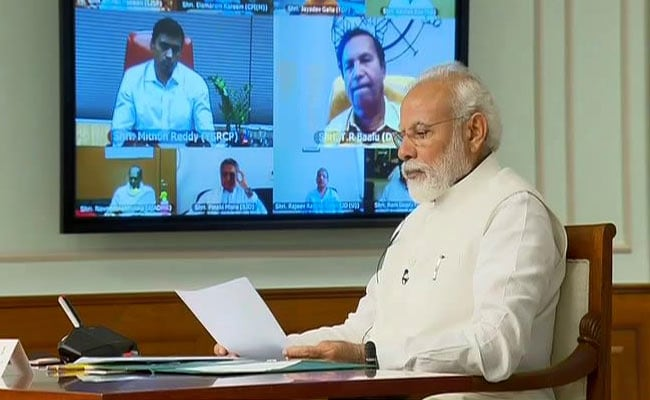 PM Modi's All-Party Meet Via Video-Con As Government Decides On Lockdown