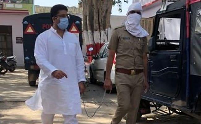 Minor Children Of Arrested UP Congress Leader Approach Top Court