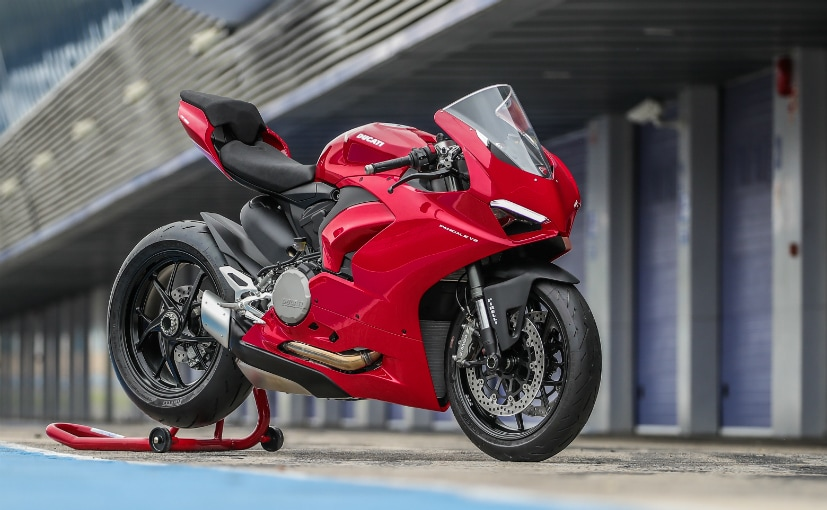 The Ducati Panigale V2 is priced at Rs. 16.99 lakh (ex-showroom)