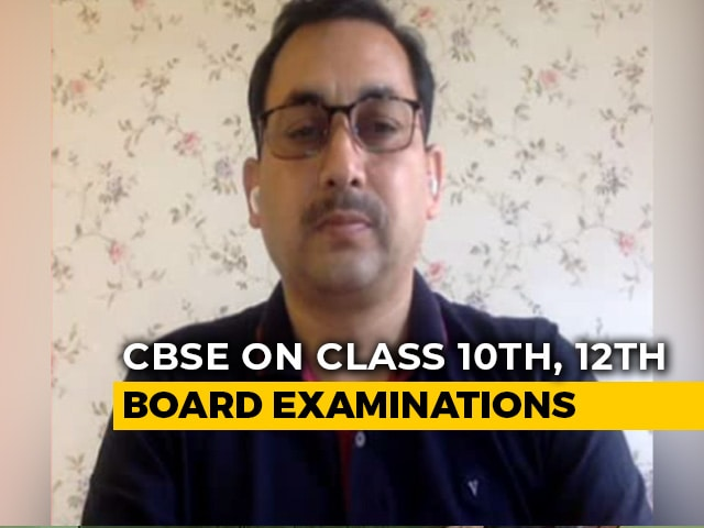 """Video : """"Have Patience, Decision Will Favour Students"""": CBSE Secretary Tells NDTV"""
