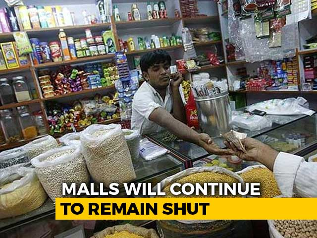 Video : Centre Allows Shops To Open With Conditions, Malls To Remain Closed