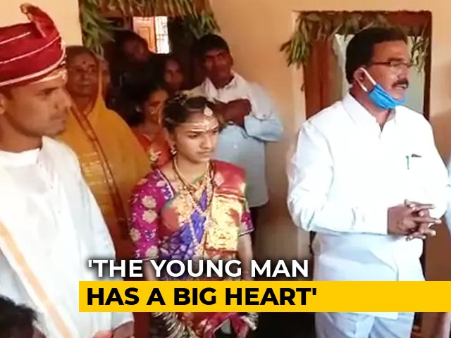 Video : Telangana Groom Donates Rs 2 Lakh He Saved For Wedding To Fight COVID-19