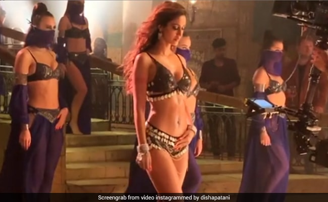 Disha Patani Shares A BTS Video From Baaghi 3 Song. Ayesha And Krishna Shroff Comment