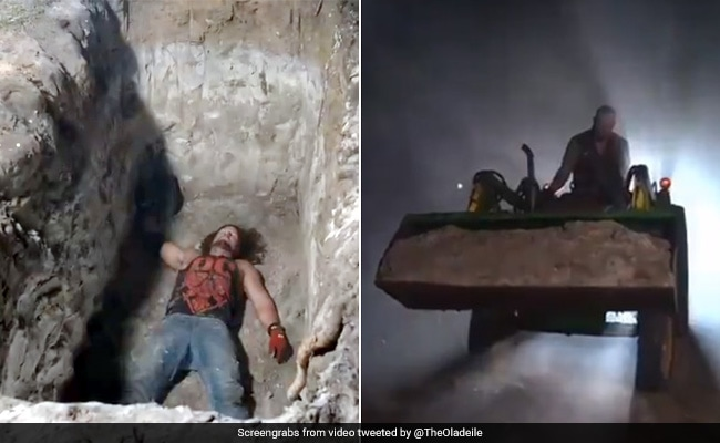 WWE में अंडरटेकर ने एजे स्टाइल्स को कब्र में जिंदा दफनाया, 'DeadMan' ने ऐसे लिया बदला... देखें पूरा Match