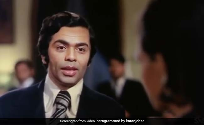 Karan Johar's Quirky Tribute To Rishi And Raj Kapoor. Forget Blinking For 2-And-A-Half Minutes