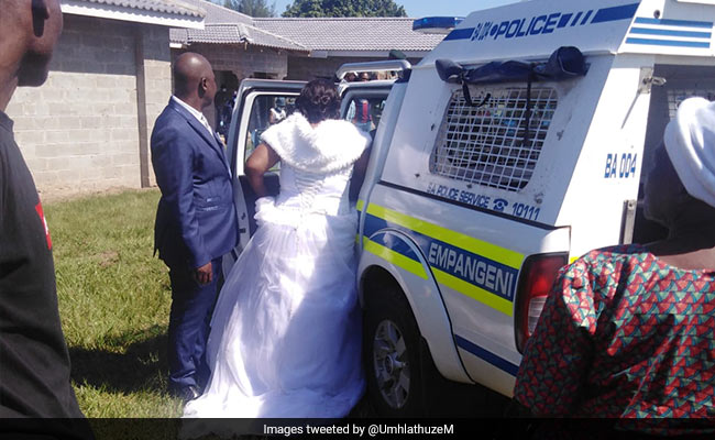 Bride, Groom And 50 Guests Arrested For Holding Wedding During Lockdown
