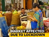 Video : Bengaluru's Vegetable And Flower Market Affected Due To Lockdown