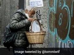 गरीबों की मदद के लिए लोगों ने घर की बालकनी से टोकरी में खाना रखकर लटकाया, देखिए तस्वीरें