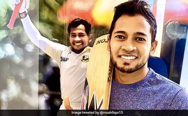Mushfiqur Rahim to auction his bat to help coronavirus relief efforts