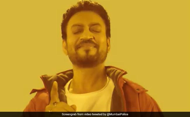 मुंबई पुलिस ने शेयर किया इरफान खान का पॉपुलर Meme, लिखी ऐसी बात, खूब हो रही तारीफ
