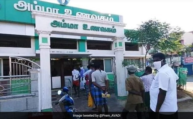 Amma Canteens To Provide Free Food During 12-Day Lockdown In 4 Tamil Nadu Districts