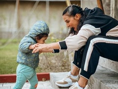 "Neha Dhupia And Adorable Daughter Mehr Are Making A ""Memory Book"""
