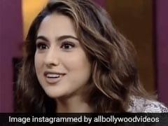 सारा अली खान ने 'कॉफी विद करण' में किया खुलासा, बोलीं- हां मैं अजीब हूं...देखें Video