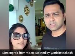 आकाश चोपड़ा की कमेंट्री से गुस्साईं पत्नी, बोलीं- 'जा रही हूं घर छोड़कर', घूरकर दिया ऐसा रिएक्शन, देखें Video