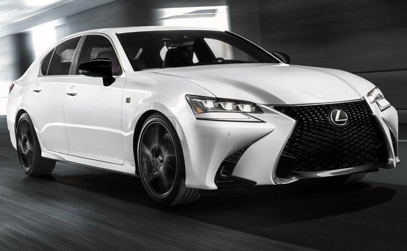 Lexus GS Black Line Edition Unveiled