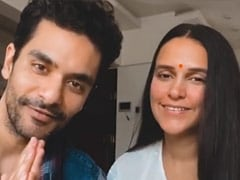 This BTS Video Of Neha Dhupia And Angad Bedi Wishing Fans On <i>Baisakhi</i> Will Leave You In Splits