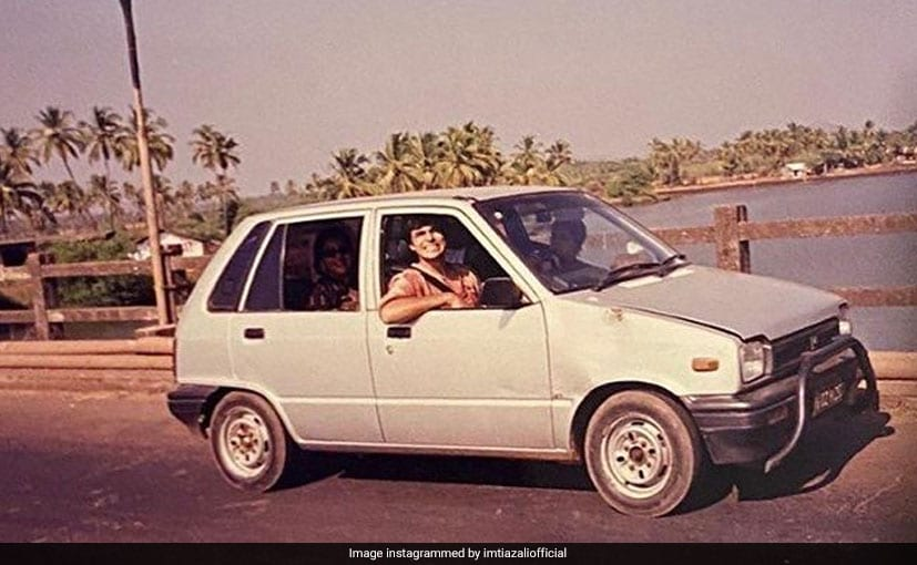 Imtiaz Ali shared the throwback image on his Instagram account