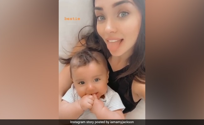 Amy Jackson's Pic With 'Bestie' Andreas Is Just Too Cute
