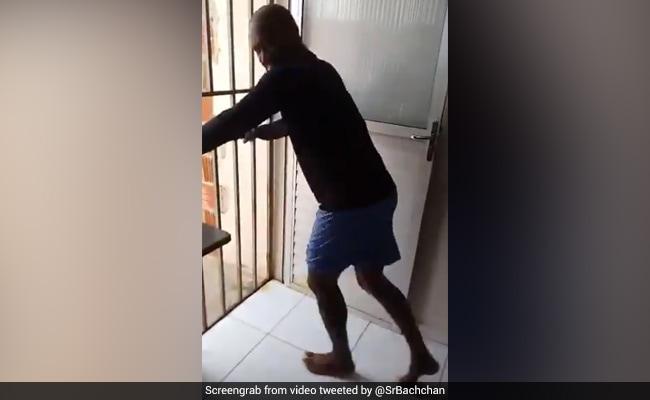 Viral Video: शख्स ने लॉकडाउन में फर्श को यूं बनाया ट्रेडमिल, और लगा दी दौड़, अमिताभ ने शेयर किया वीडियो