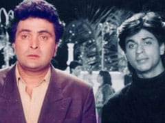 Shah Rukh Khan's Tribute To Rishi Kapoor, His First-Co-Star, Is Worth The Wait
