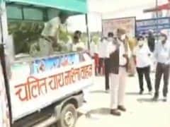 पुलिस ने ड्यूटी पर तैनात अपने साथियों के लिए बढ़ाया हाथ, 30 मिनट में घर पर पहुंचा दिया जाता है जरूरी सामान