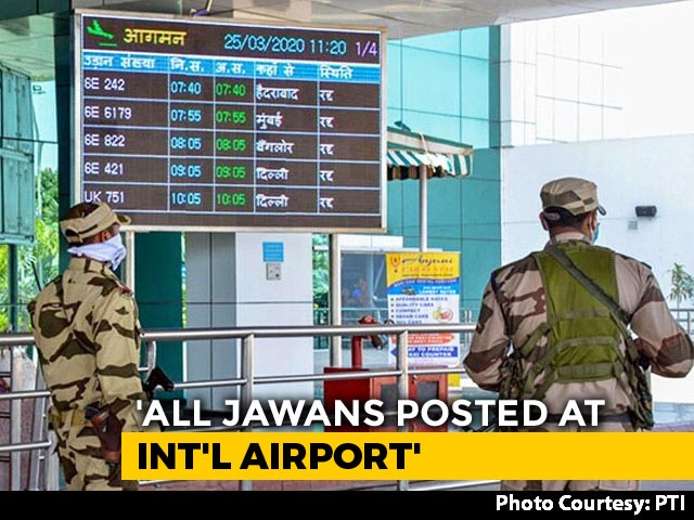 Video : COVID-19 - 10 Security Personnel At Mumbai Airport Test Positive For Coronavirus
