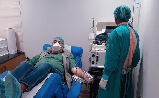 COVID-19 : ICMR ने पुणे के अस्पताल को प्लाज़्मा पद्धति से इलाज की अनुमति दी