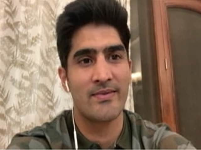 Video : Boxer Vijender Singh Calls For Saving The Future Of The Country By Saving The Children