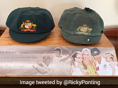 "Ricky Ponting Showcases His ""Favourite Piece Of Memorabilia"" On Twitter"