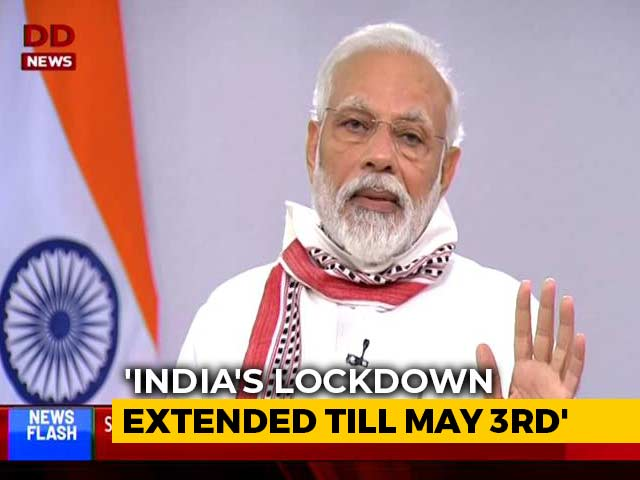 Video : Watch PM's Full Speech On Extending Lockdown