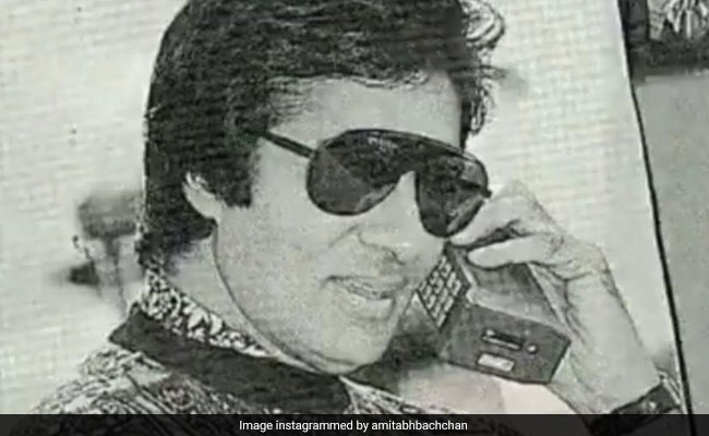 Amitabh Bachchan Shares Phone A Friend Post With Throwback Pic