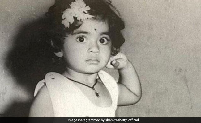"This Throwback Picture Of Shamita Shetty From The Time Of ""Cuddles And Chocolates"" Is Just Too Cute"