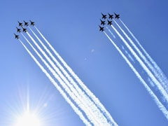 Fighter Jets Fly Over New York To Honour Health Workers Battling Coronavirus. Watch